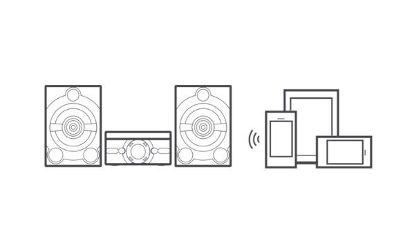 visokozmogljiv doma u010di glasbeni sistem s povezavo bluetooth